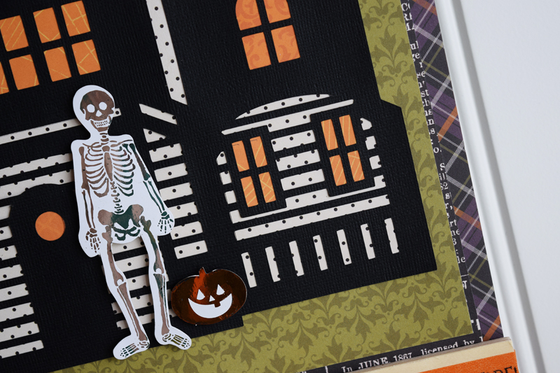 Halloween home d cor stamp scrapbook expo for Home decor expo 2015