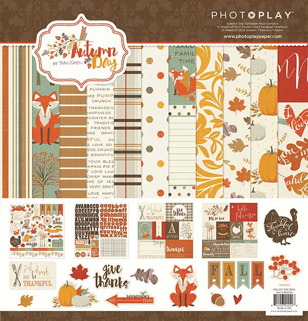 Photoplay - Autumn Day Collection Pack