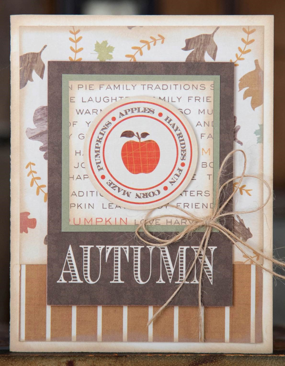 Autumn card by Photo Play Paper