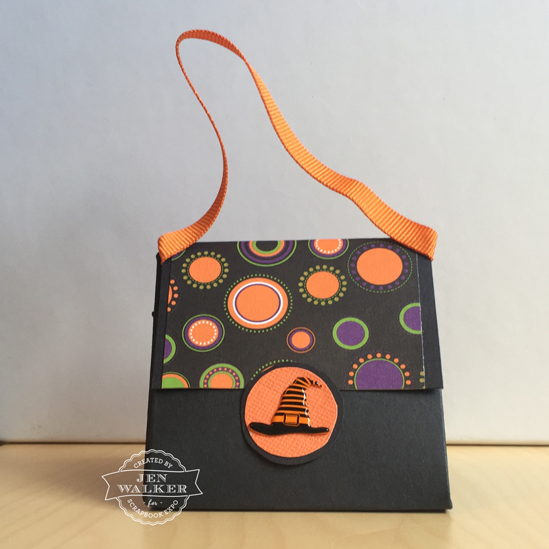 Halloween Treat Bag by Jen Walker