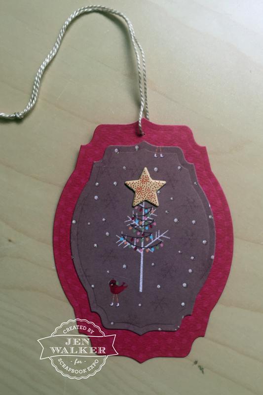 Christmas Tag by Jen Walker