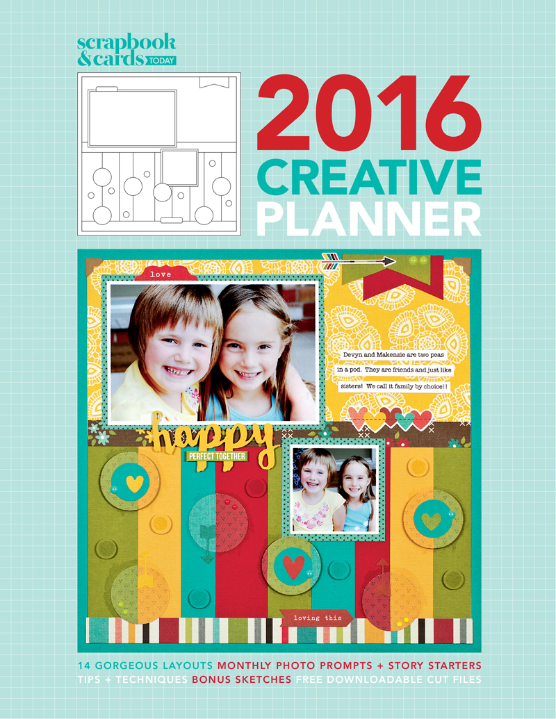 2016 Scrapbook & Cards Today Creative Planner