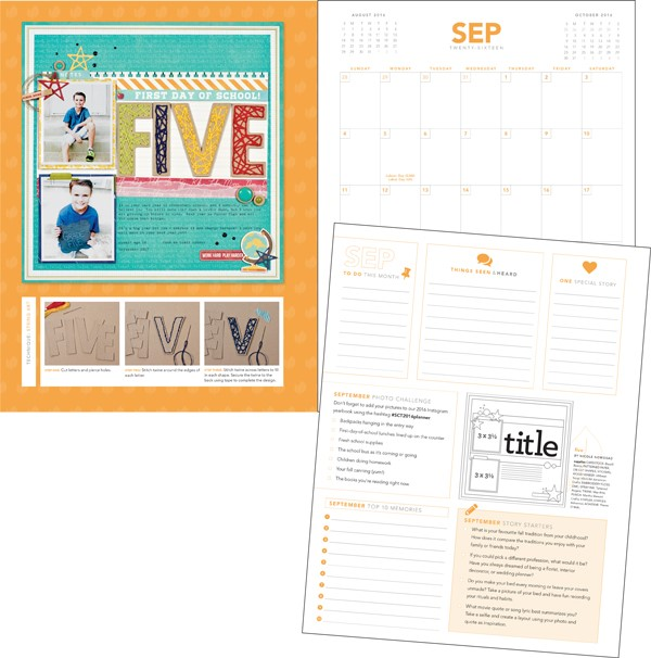 2016 Creative Planner by Scrapbook & Cards Today