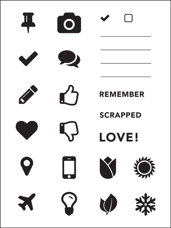 2016 Creative Planner Companion Stamps