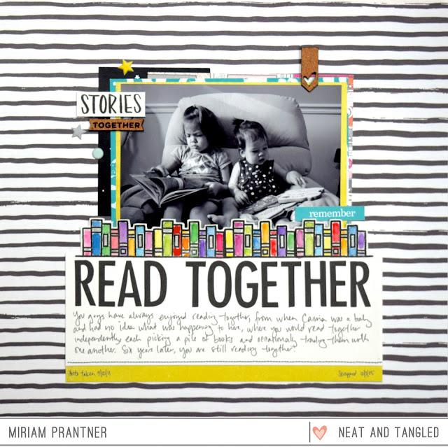 Read Together designed by Miriam Prantner