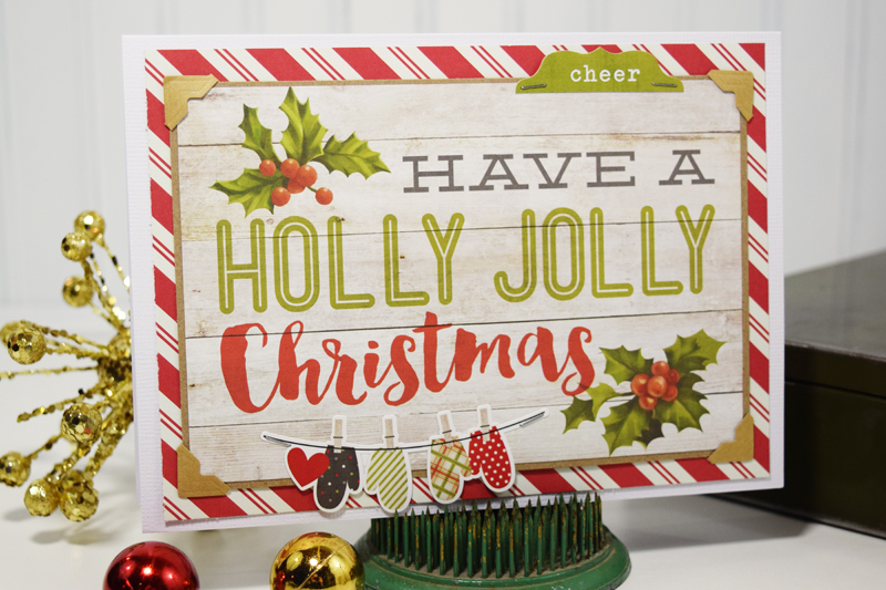 Easy Handmade Christmas cards by @jbckadams for @scrapbookexpo
