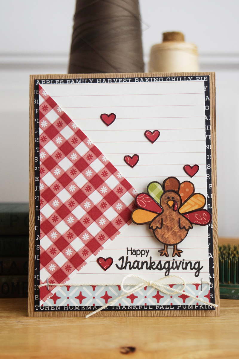 Stamped Thanksgiving Cards by @jbckadams for @scrapbookexpo