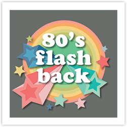 80'S Flashback Crop Theme