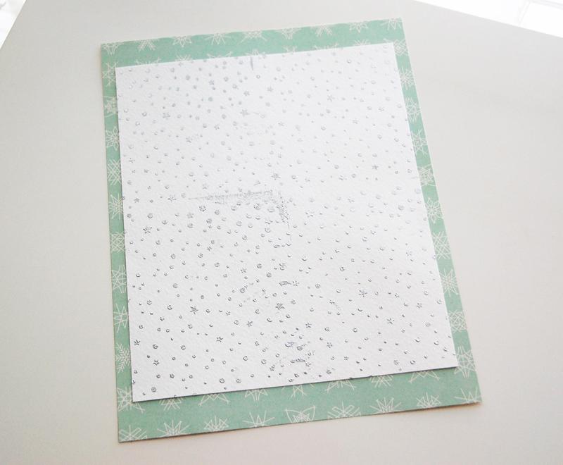 roree rumph_heat embossed_snowflake_background stamp_step8