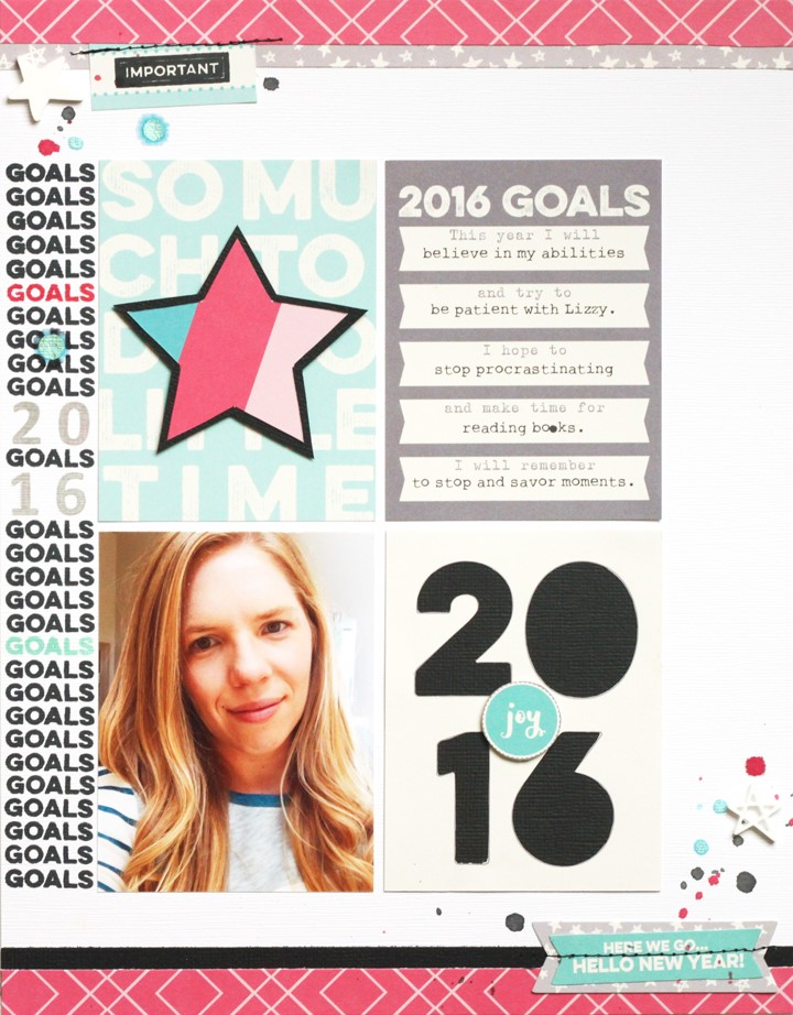 2016 GOALS WITH MEGHANN ANDREW