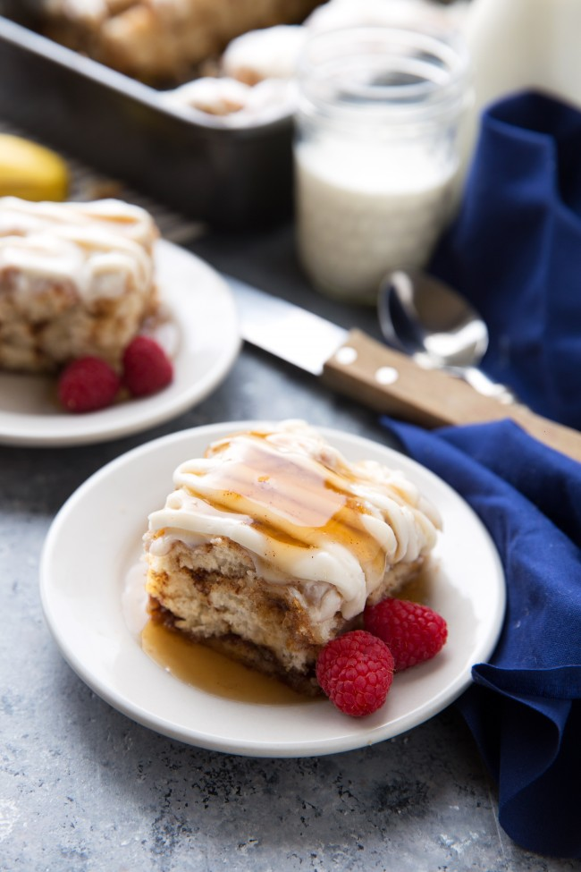 Cinnamon Roll Biscuit Bake