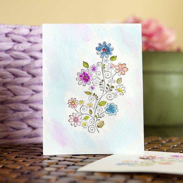 _3 Ways to Watercolor Cards