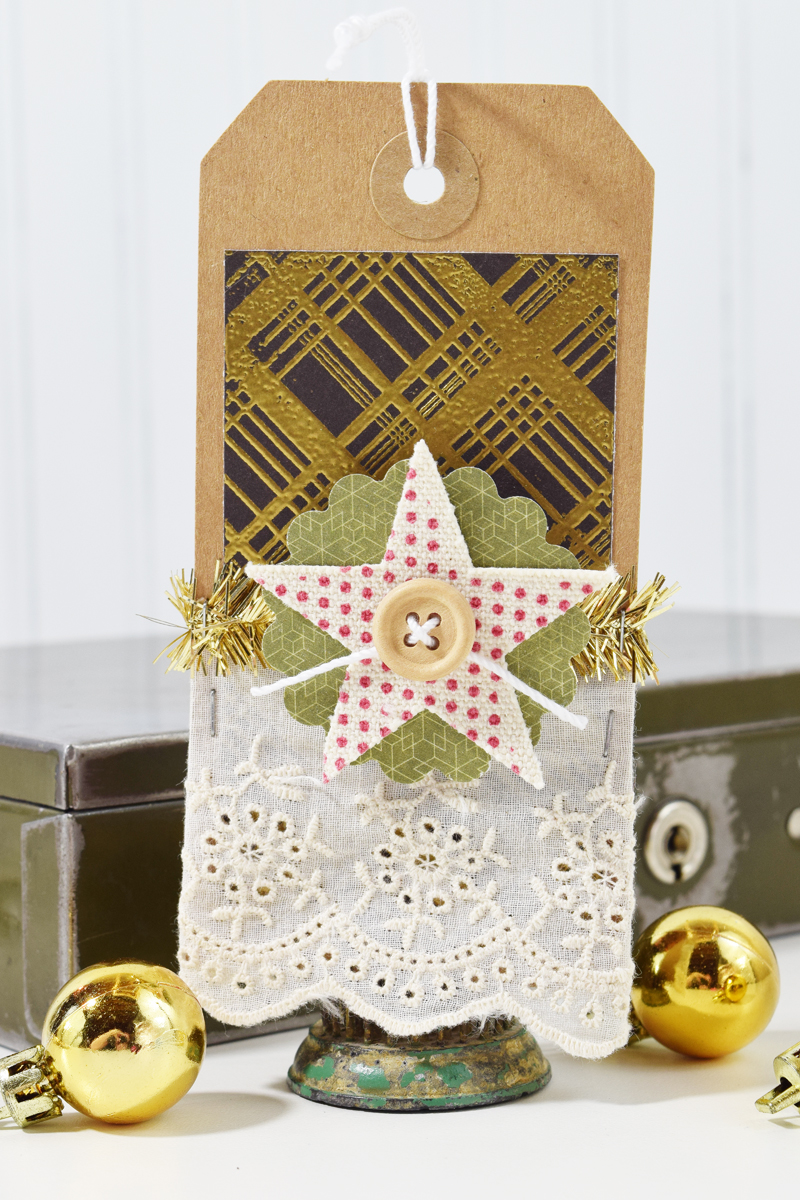 Christmas Tags by @jbckadams for @scrapbookexpo.com
