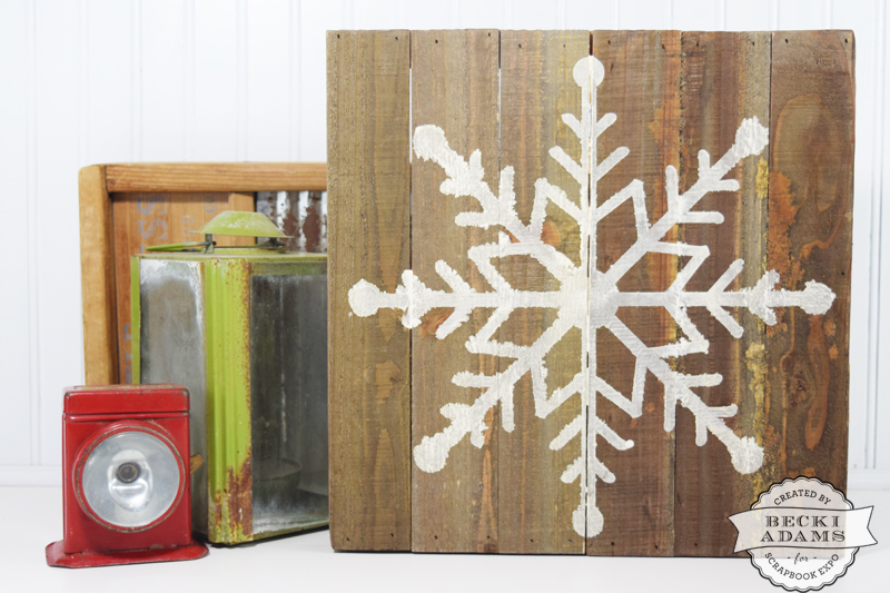 Home Decor Expo 2015 Of Easy Snowflake Home D Cor Stamp Scrapbook Expo
