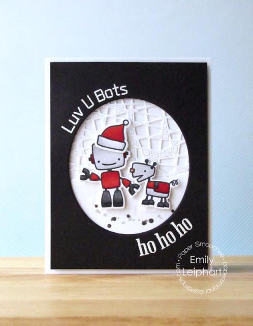 Luv U Bots by Emily Leiphart