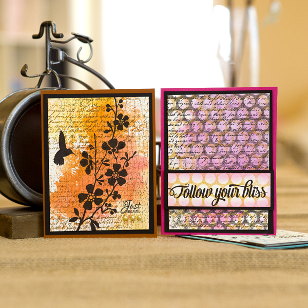 _Layering Background Stamps