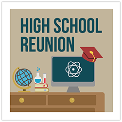 High School Reunion Crop Theme