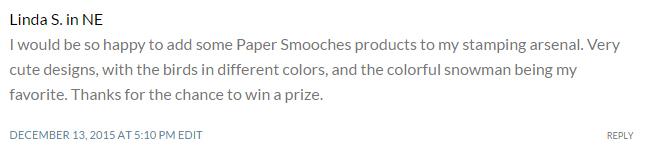 linda s paper smooches