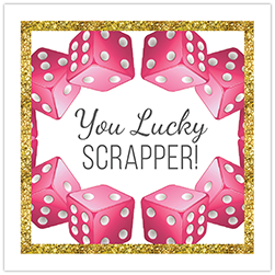 You Lucky Scrapper Crop Theme