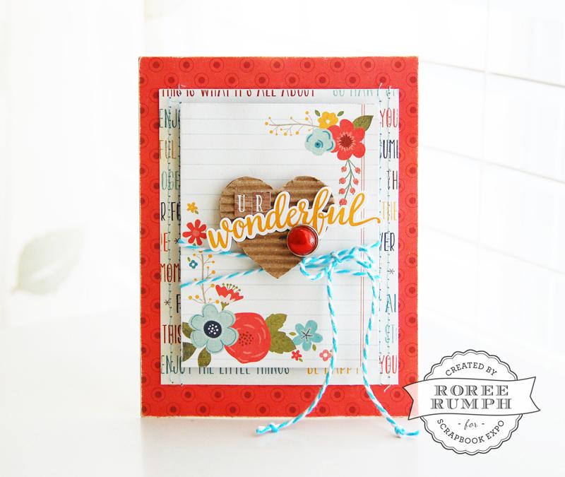 roree rumph_corrugated cardboard_die cut_card