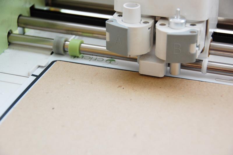 roree rumph_corrugated cardboard_die cut_card_step2