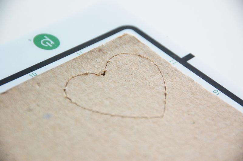 roree rumph_corrugated cardboard_die cut_card_step3