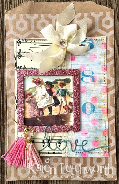 Decorative Gift Bag Card