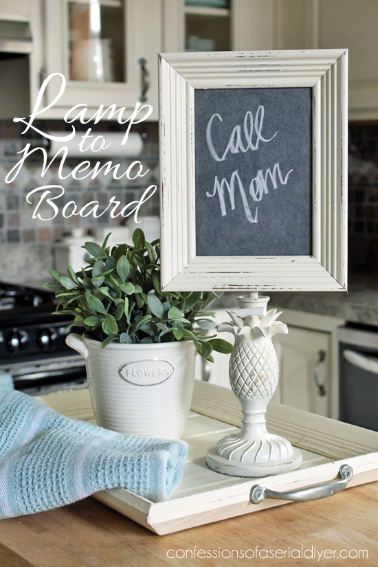 Lamp To Memo Board