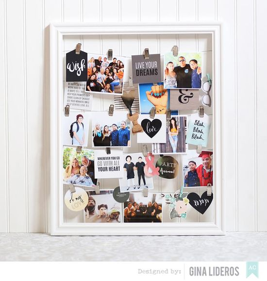 Year In Review: Photo Frame Display
