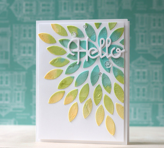 Hello Card designed by Laura Bassen