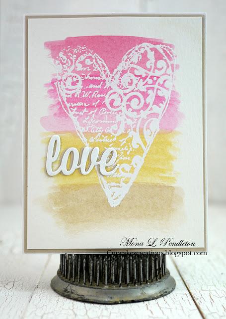 Love designed by Mona Pendleton