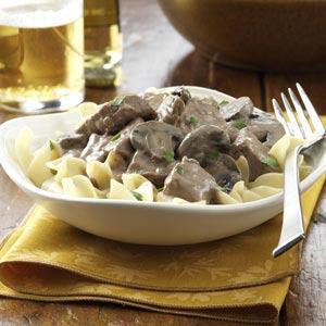 Steak Stroganoff Recipe