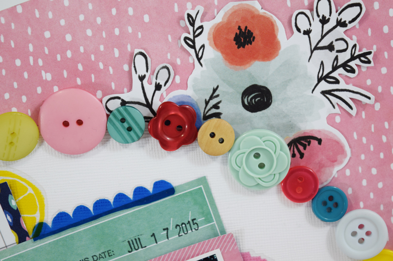 Buttons, buttons, and more buttons by @jbckadams for @scrapbookexpo