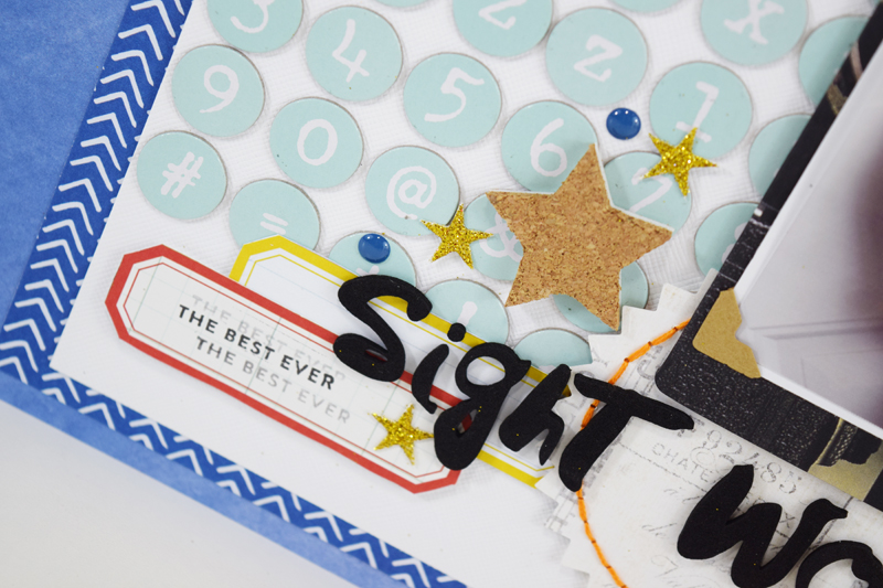 How to use ALL those Letter Stickers by @jbckadams for @scrapbookexpo