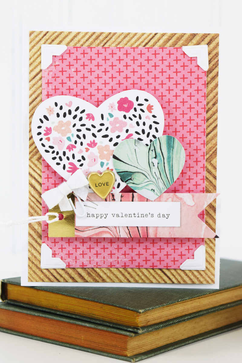 Handmade Valentines by @jbckadams for @scrapbookexpo