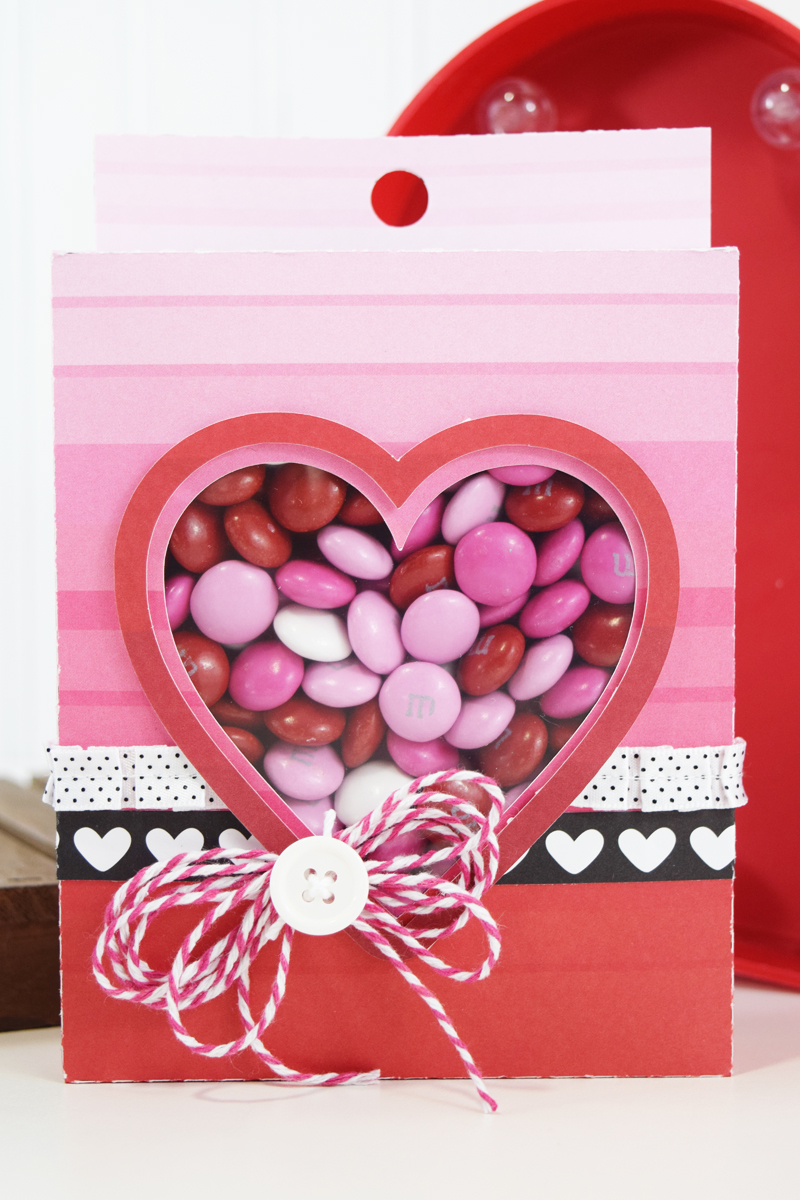 Valentines Treat Boxes by @jbckadams for @scrapbookexpo