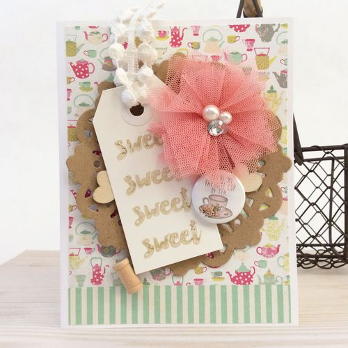 Sweet card by Kathy Martin