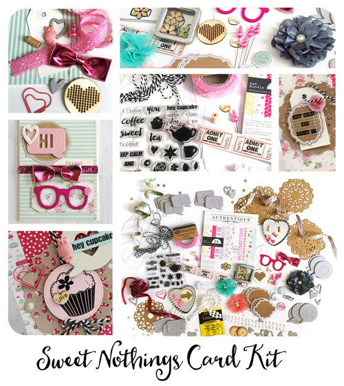 Maya Road Sweet Nothings Card Kit