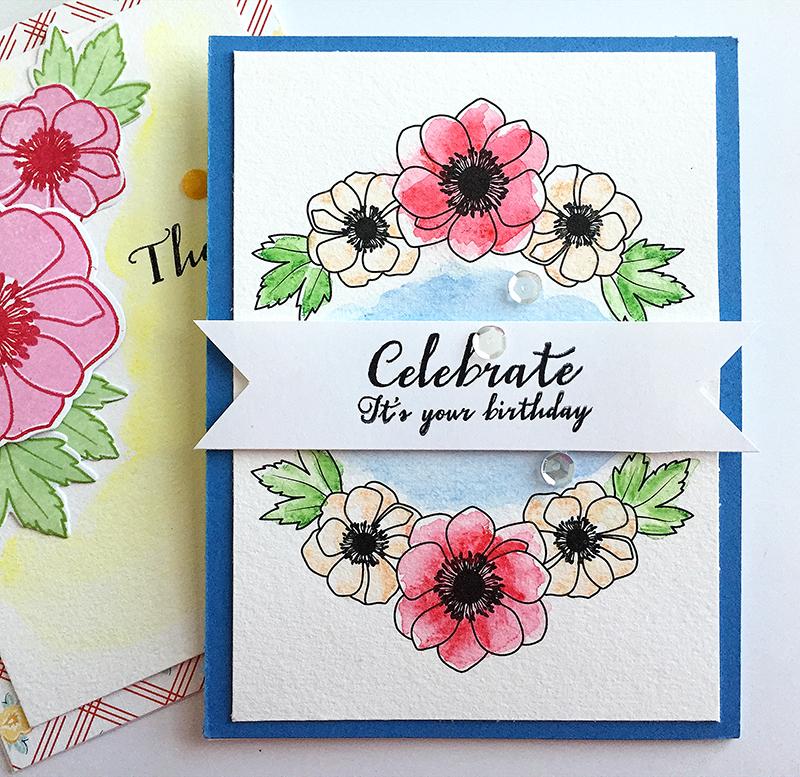 watercolor -celebrate