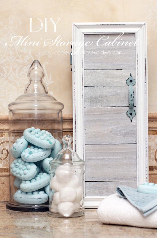 Mini Storage Cabinet