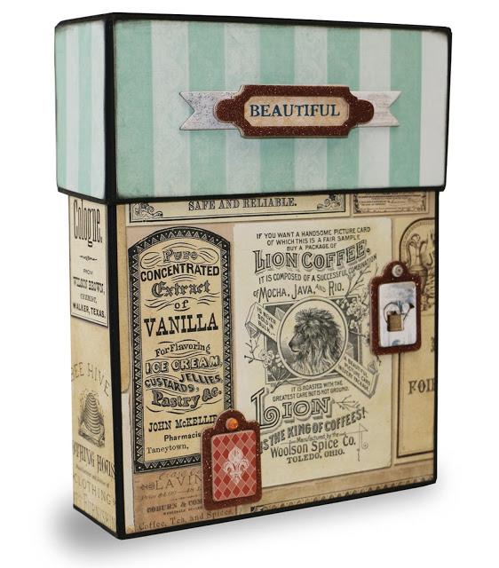 Bo Bunny Recipe Box