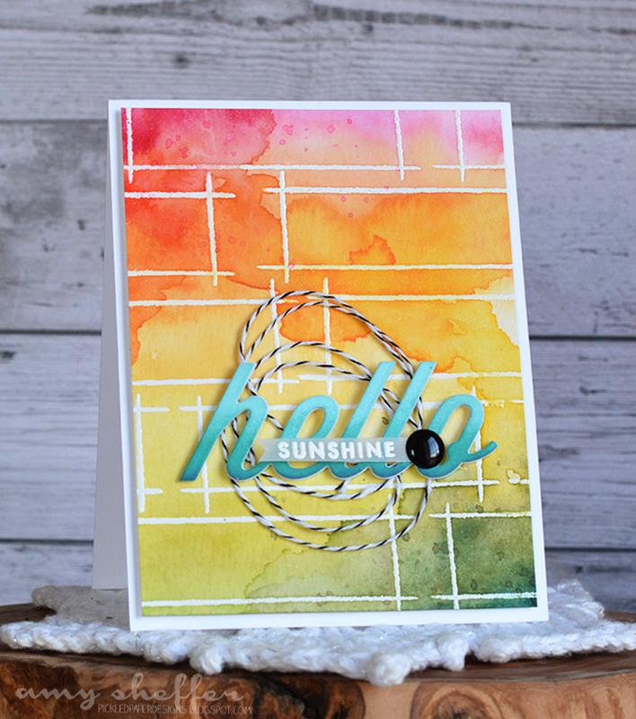 Hello Sunshine designed by Amy Sheffer