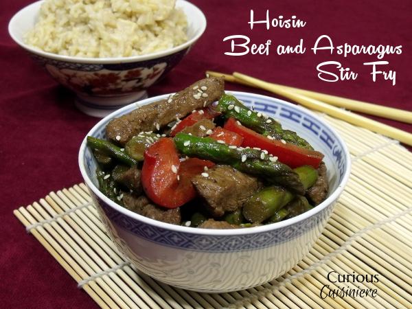 Hoisin Beef & Asparagus Stir Fry Recipe