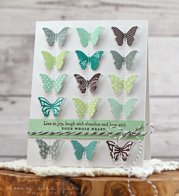 Butterfly Inspiration designed by Amy Sheffer