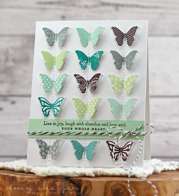 Butterfly Inspiration designed by Amy Sheffer