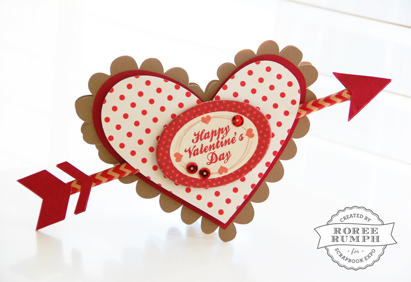 roree rumph_heart and arrow_valentine_card