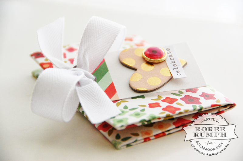 roree rumph_origami_gift card holder_closed