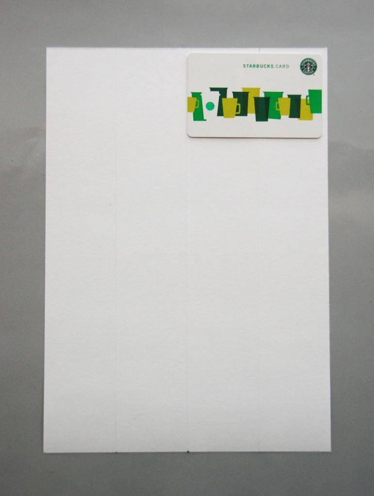 roree rumph_origami_gift card holder_step1
