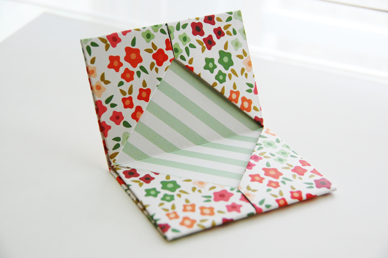 roree rumph_origami_gift card holder_step12