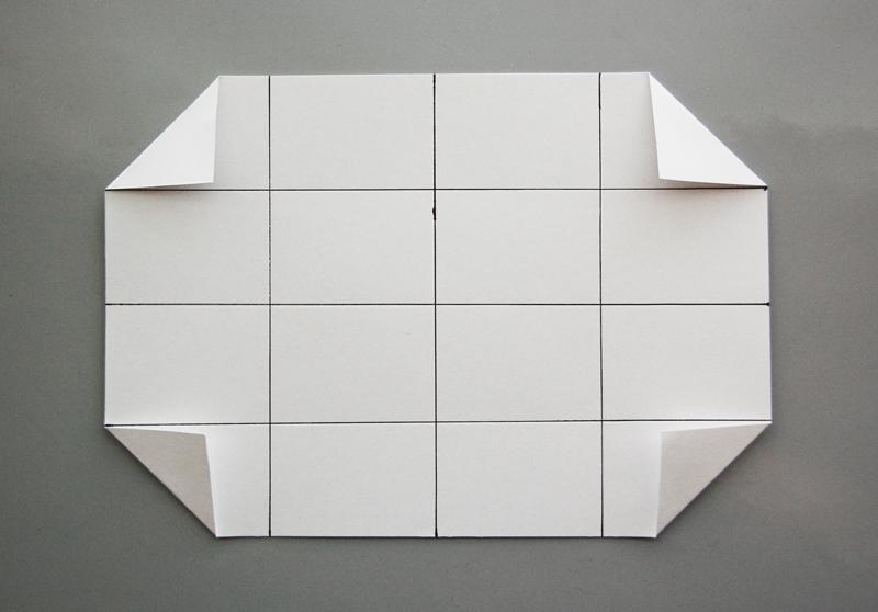 roree rumph_origami_gift card holder_step4